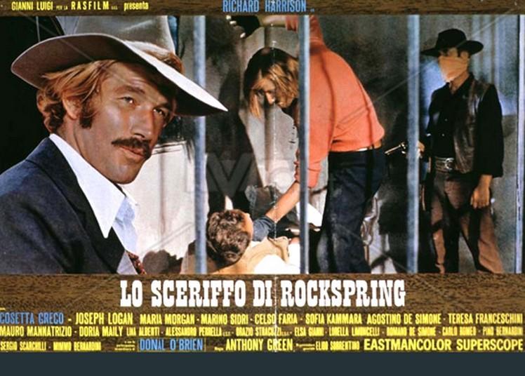 Le shérif de Rockspring ( Lo Scheriffo di Rockspring ) –1971- Mario SABATINI Scerif11