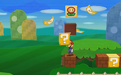 Paper Mario Sticker Star (Test 3DS) Animat13