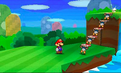 Paper Mario Sticker Star (Test 3DS) Animat14