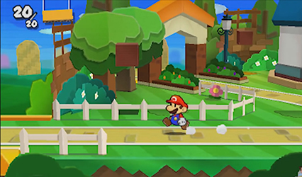Paper Mario Sticker Star (Test 3DS) Decors11