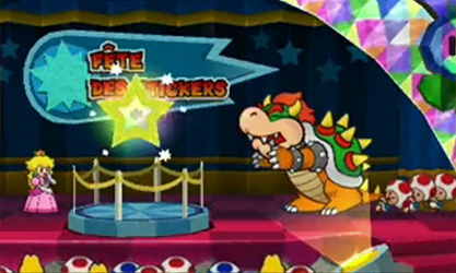 Paper Mario Sticker Star (Test 3DS) Intro310