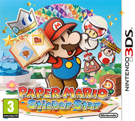 Paper Mario Sticker Star (Test 3DS) Jaquet11