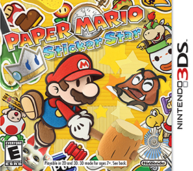 Paper Mario Sticker Star (Test 3DS) Jaquet20