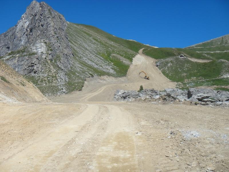 L'aménagement des pistes à Valfrejus  Dsc04111