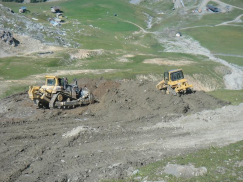 L'aménagement des pistes à Valfrejus  Dsc04112
