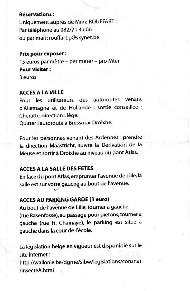 33e bourse internationale aux insectes Liège-Droixhe. Img_0011