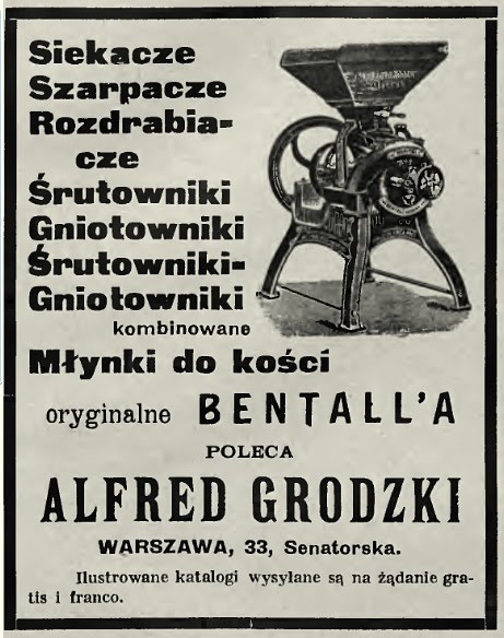 """Plomb de scelle """"Alfred Grodzki - Warszawa"""". Grodzk10"""