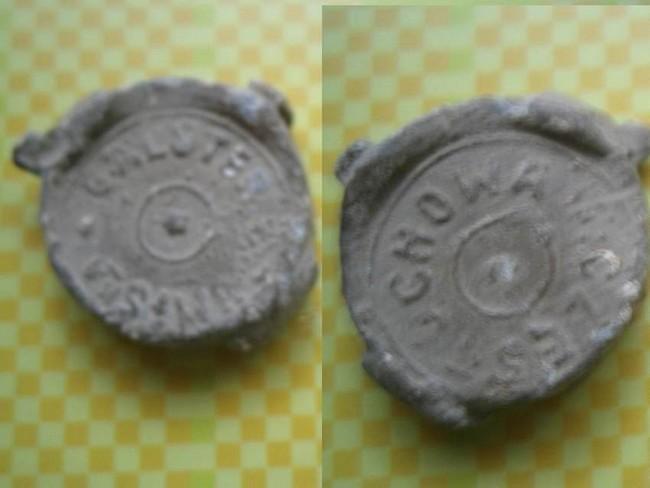 """Plomb de scelle """"Galster, Brum i Ska - Czestochowa"""". Plomb383"""