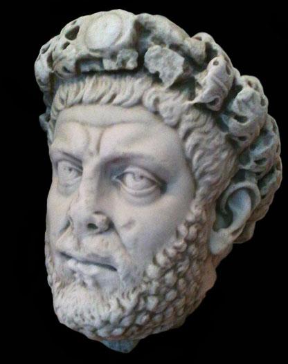 identification tete en marbre Diocle10