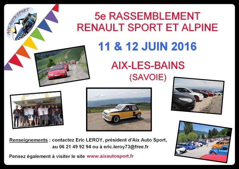 -5e Rassemblement RS et Alpine : 11/12 juin 2016 à Aix- Annonc10