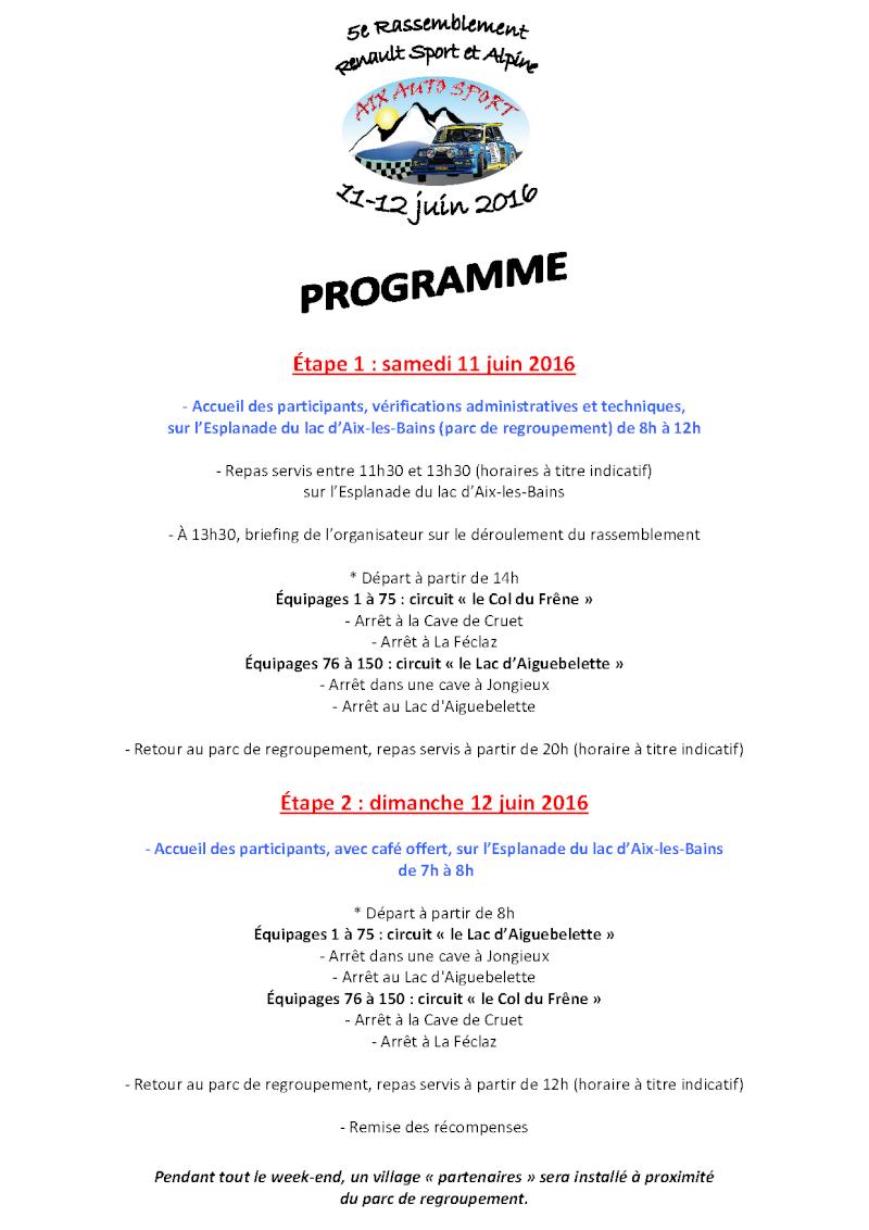 -5e Rassemblement RS et Alpine : 11/12 juin 2016 à Aix- Progra10