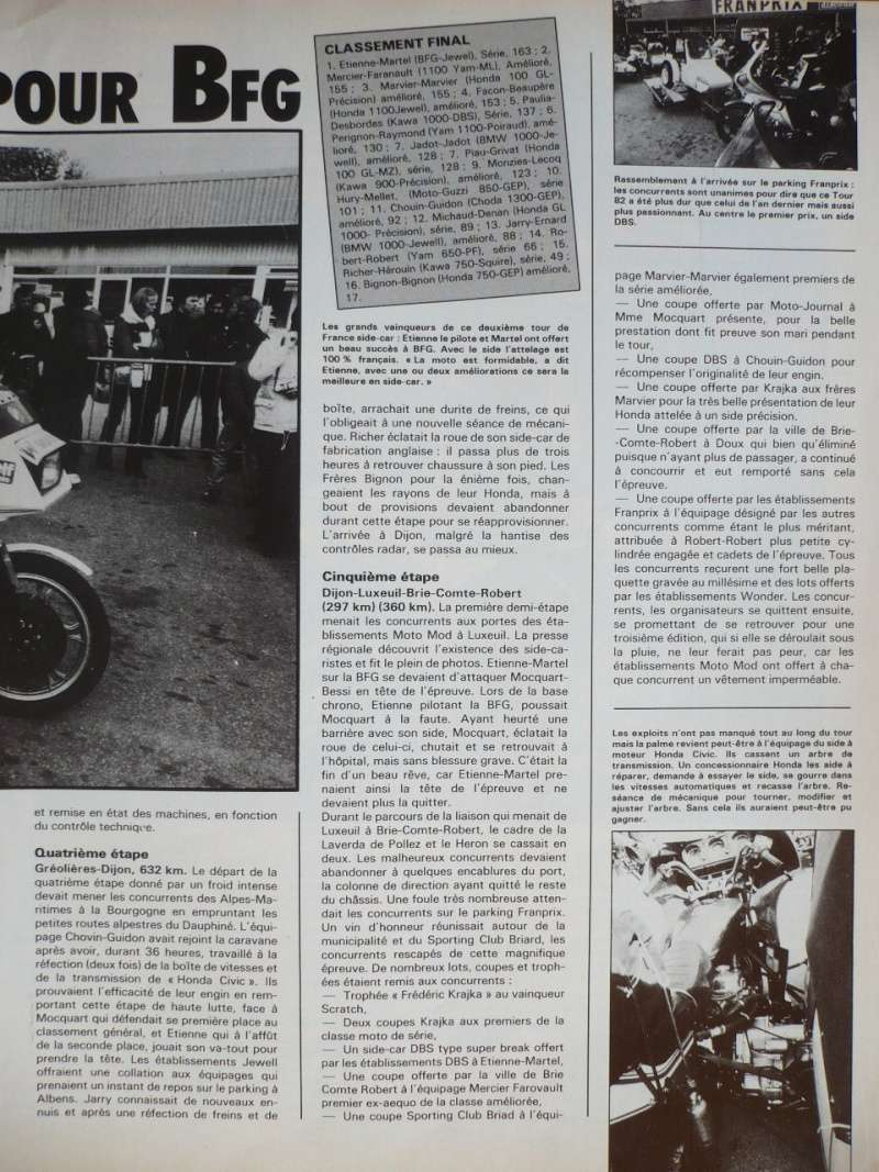 [Oldies] 1980 à 1988: Le Tour de France side-car, par Joël Enndewell  - Page 6 P1090511