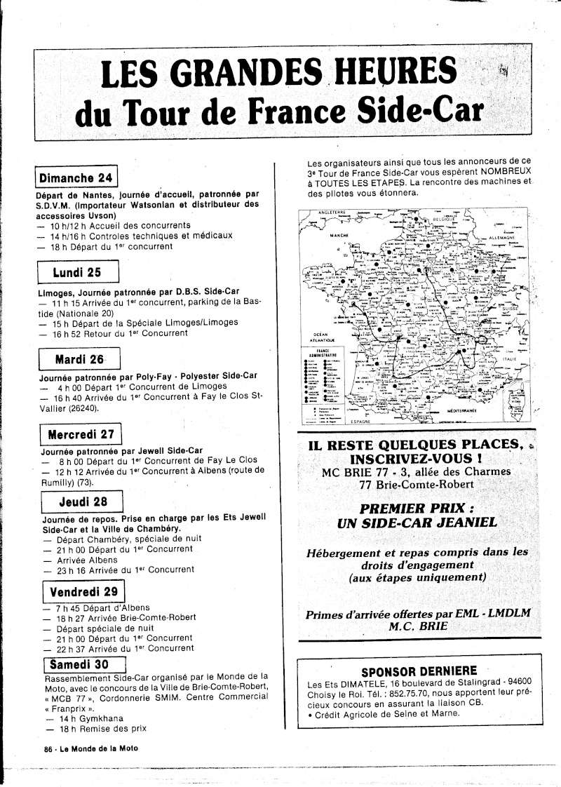 [Oldies] 1980 à 1988: Le Tour de France side-car, par Joël Enndewell  - Page 5 Pub_av10