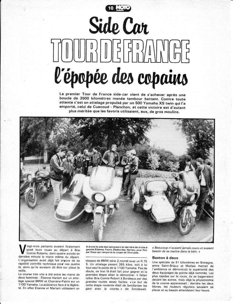 [Oldies] 1980 à 1988: Le Tour de France side-car, par Joël Enndewell  Sans_t11
