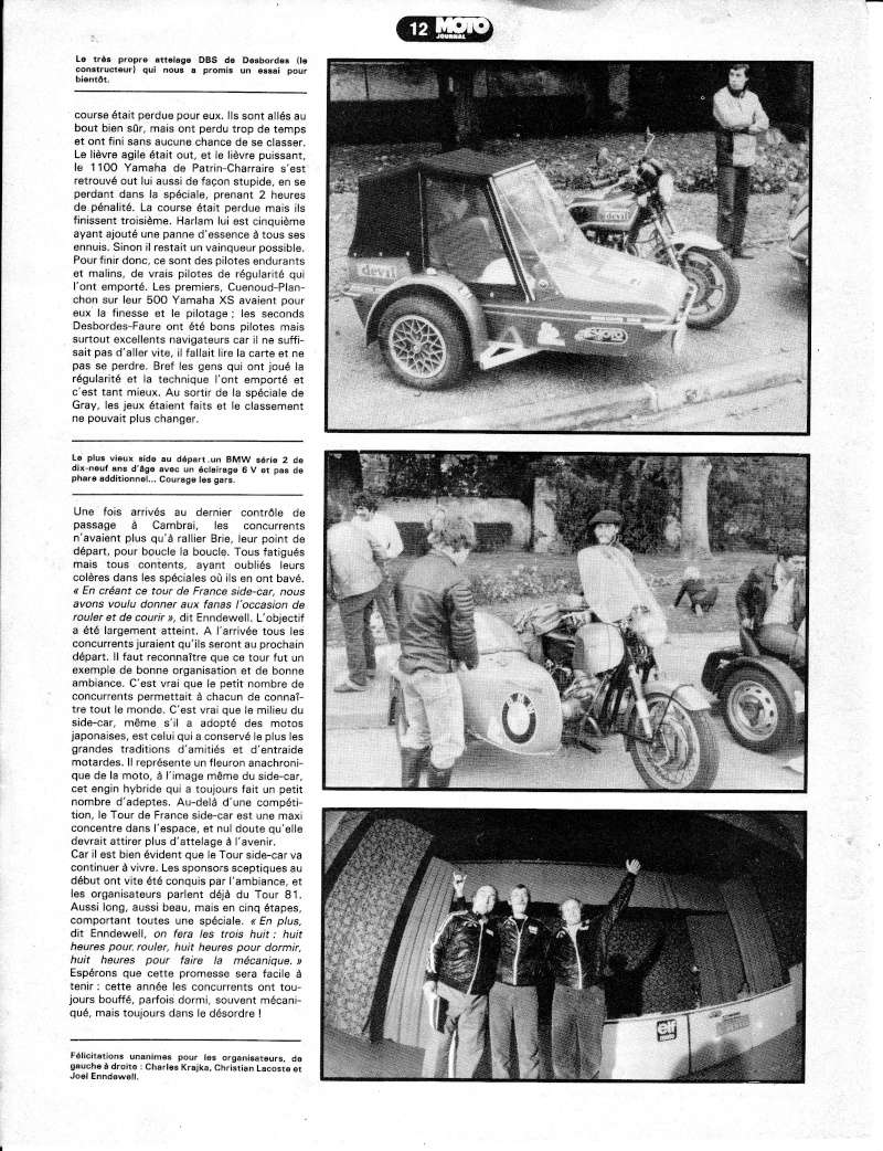 [Oldies] 1980 à 1988: Le Tour de France side-car, par Joël Enndewell  Sans_t13