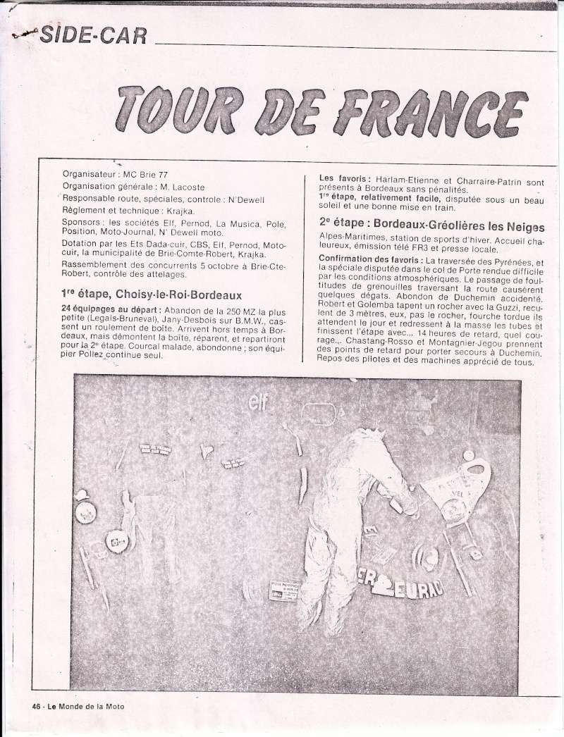 [Oldies] 1980 à 1988: Le Tour de France side-car, par Joël Enndewell  Sans_t32