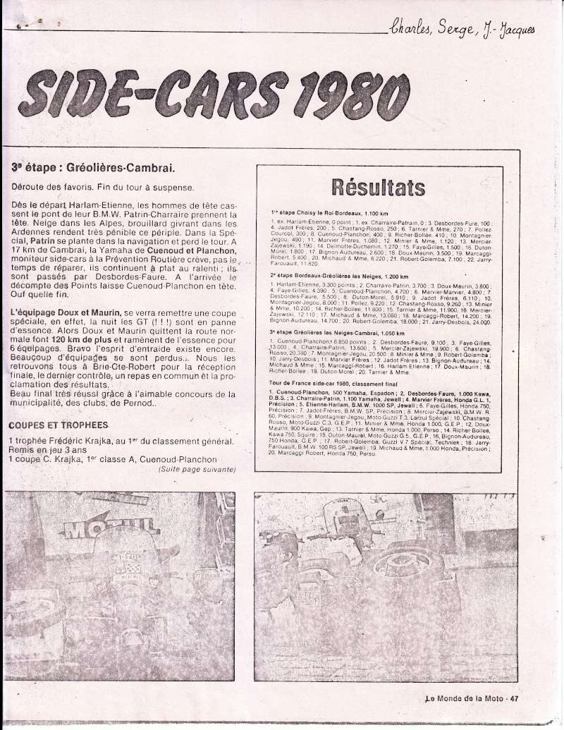 [Oldies] 1980 à 1988: Le Tour de France side-car, par Joël Enndewell  Sans_t33