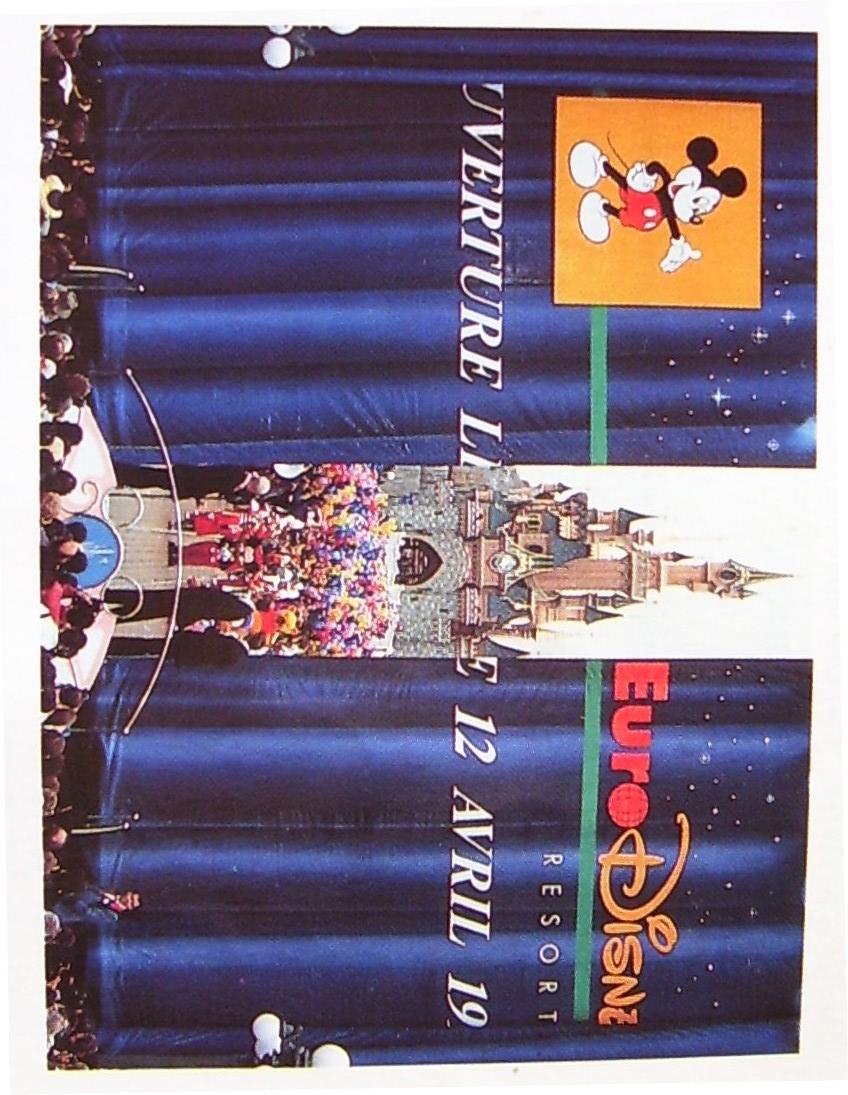 Le date storiche di Disneyland Paris Ouvert10