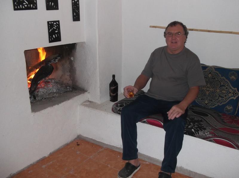 """Apéro """"cheminée"""" à Abaynou (Camping La vallée) Dscf1010"""