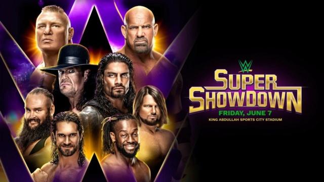 [Résultats] WWE Super Showdown du 07/06/2019 20190512