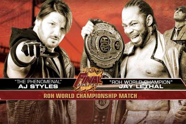 ROH Final Battle du 18/12/2015 Final-10
