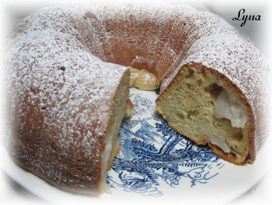 Gâteau au yogourt et aux pommes Gateau10