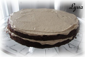 Gâteau étagé au chocolat et café Gyteau18