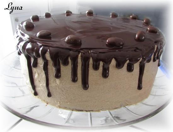 Gâteau étagé au chocolat et café Gyteau20