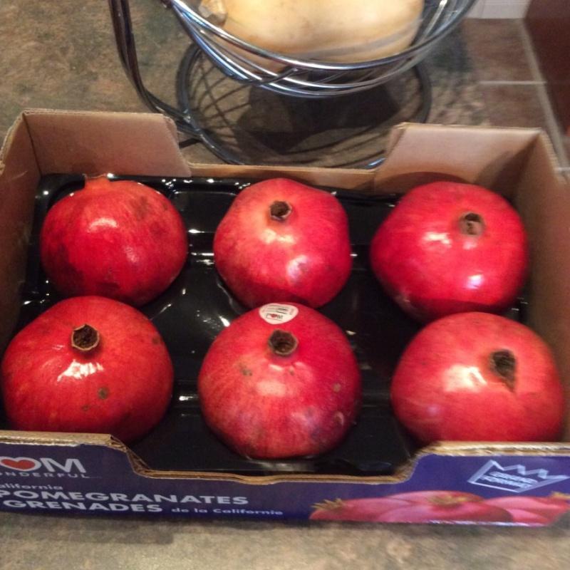 Comment apprêter facilement une pomme grenade Manon10