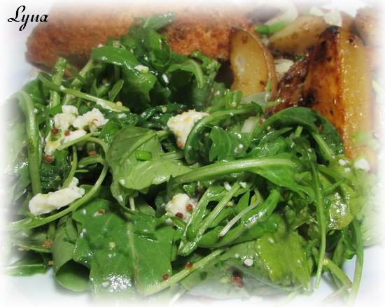 Salade de roquette et feta Salade10