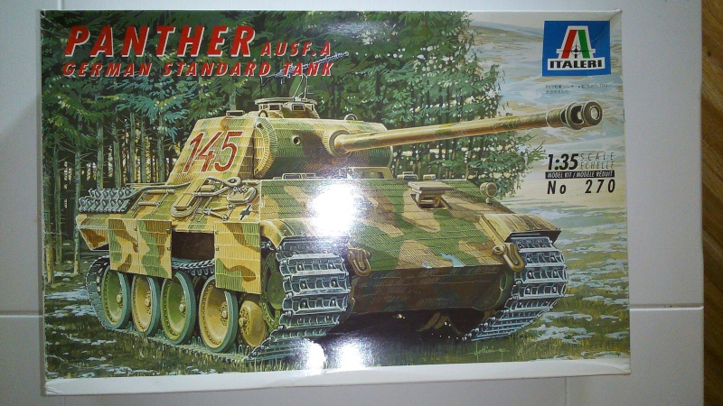 Panther A 1/35  Italeri  Montag10
