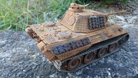 Panther A 1/35  Italeri  Panthe14
