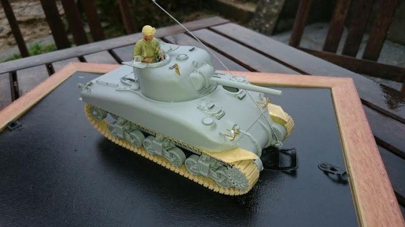 Sicile 1943 Opération Husky - Sherman M4A1 DV  Dragon 1/35 She_310