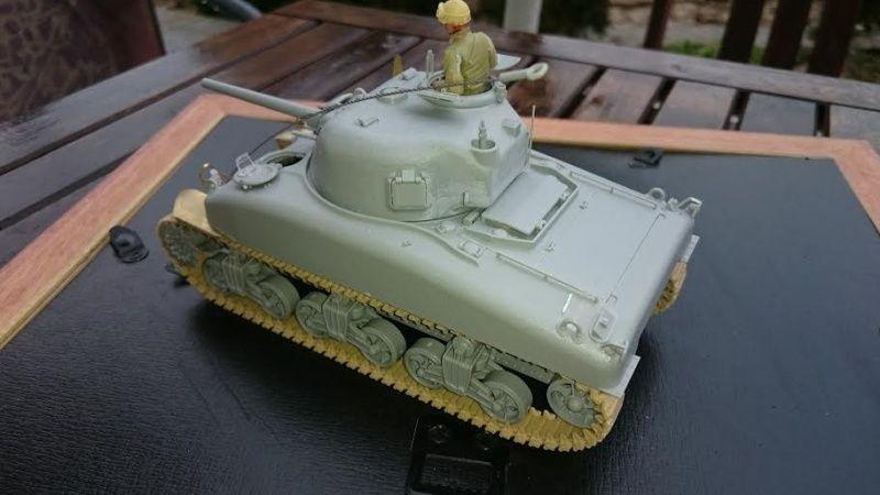 Sicile 1943 Opération Husky - Sherman M4A1 DV  Dragon 1/35 She_410