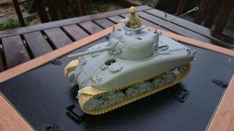 Sicile 1943 Opération Husky - Sherman M4A1 DV  Dragon 1/35 She_610