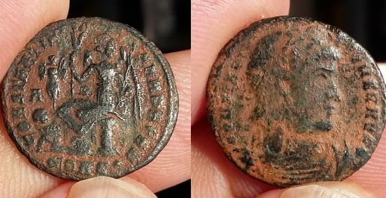 Ae3 Constantin Constantinople antoninien Claude II Antioche Picsar10
