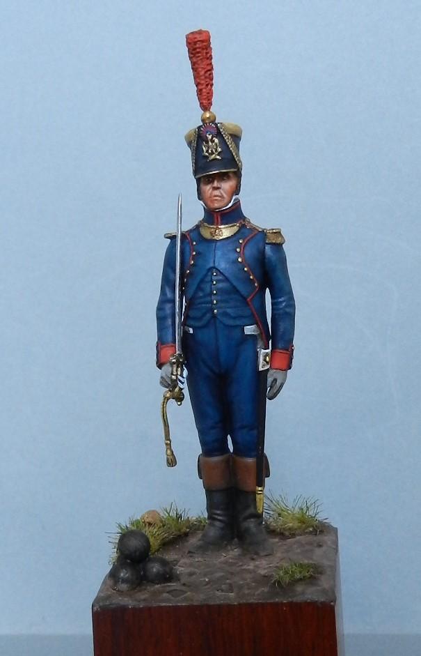 lieutenant d'artillerie d'Empire Dscn6218