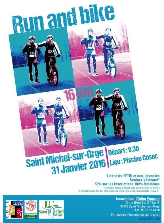 Bike and Run de St Michel sur Orge 31/01 Captur29