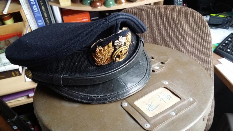 Casquette d'officier de la marine impériale 20151253