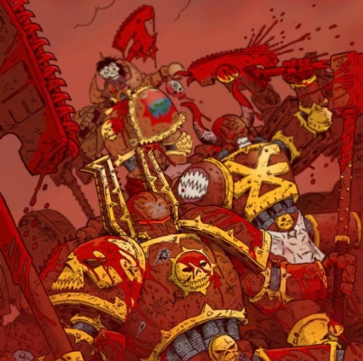 [W40K] Collection d'images : Space Marines du Chaos - Page 9 Berzer10