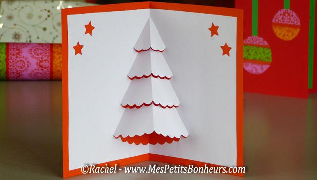 """6 décembre une carte pop up """"sapin de noël"""" Carte-10"""