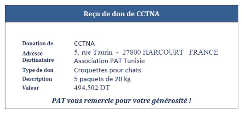 Association PAT (Protection Animaux de Tunisie) - Page 2 Reyu_d10