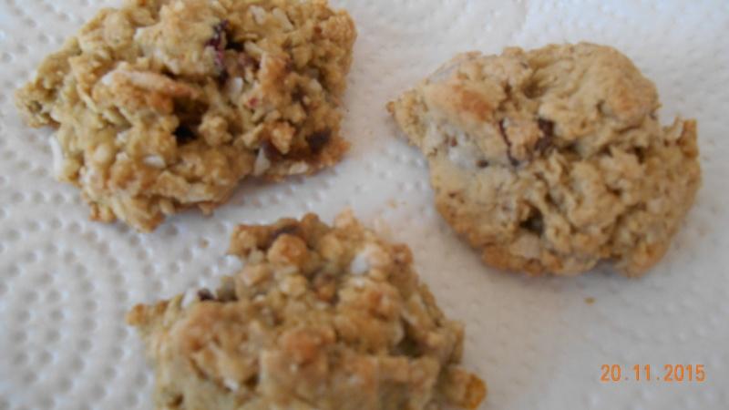 Biscuits à l'orange  canneberge  noix de coco Dscn0611