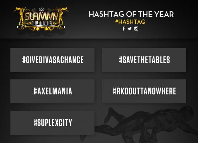 [Compétition] Nominations des Slammy Awards 2015 20151223