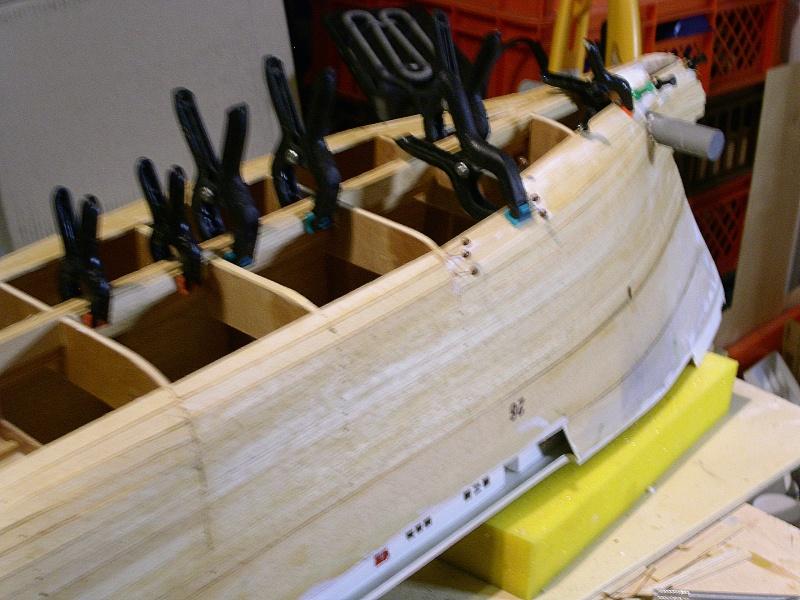 Noch ein Bericht über den Bau der ETV Waker in 1:75  - Seite 7 Planke10