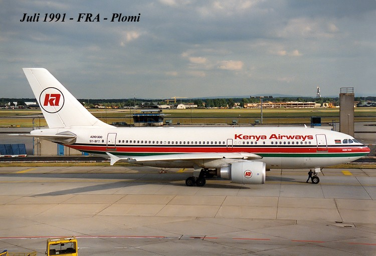 A310 in FRA - Page 2 19910710