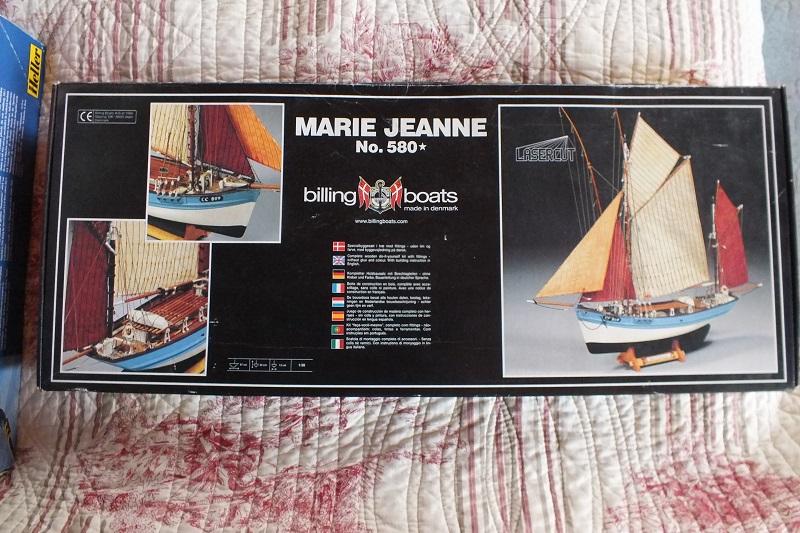 Dio : Thonier Marie-Jeanne en mer (Artesania Latina 1/50°) par chtanou Marie-10