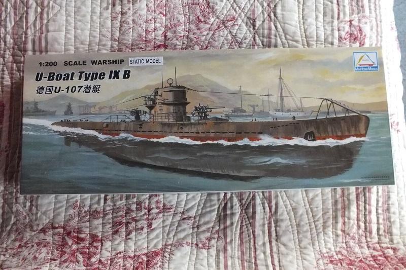 u 552 revell 1.72 U-boat10