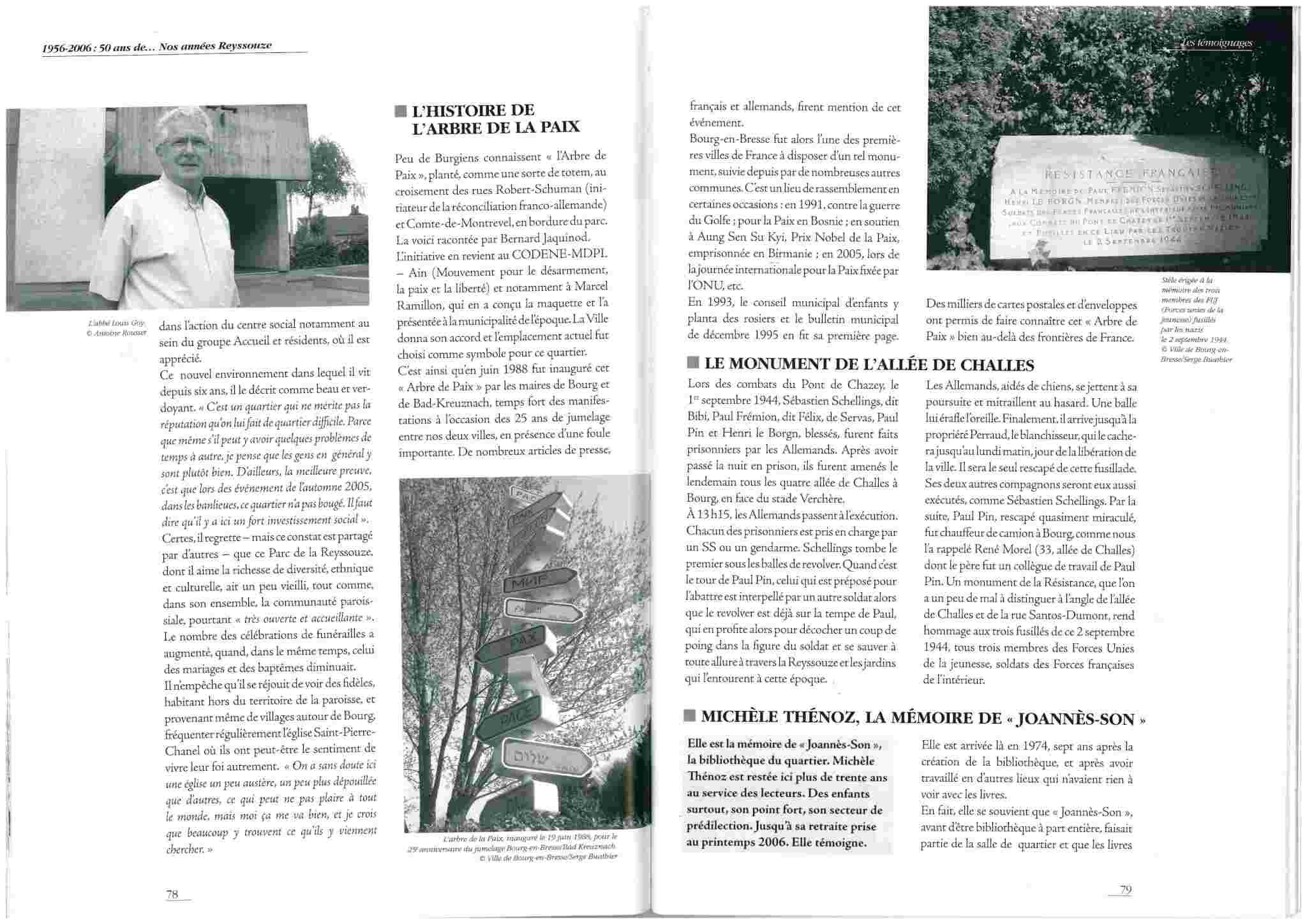 """L'Arbre de la Paix"" - Bourg en Bresse - Ain - France Arbre_11"
