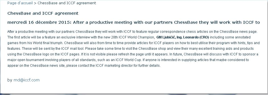 Coopération ICCF+CHESSBASE Flemme10